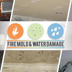 Mold Remediation Service, Water Damage Restoration Service, Fire Damage Restoration Service