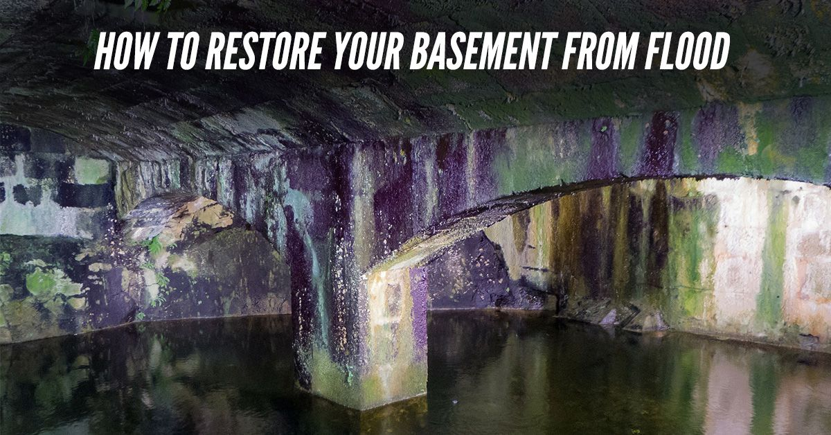 How To Restore Your Basement From Flood