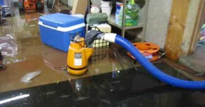 Water Damage Restoration-AAA Flood Drying, MA NH | Pumping Out A Flooded Basement