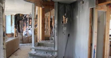 Fire Damage House Restoration – First Look
