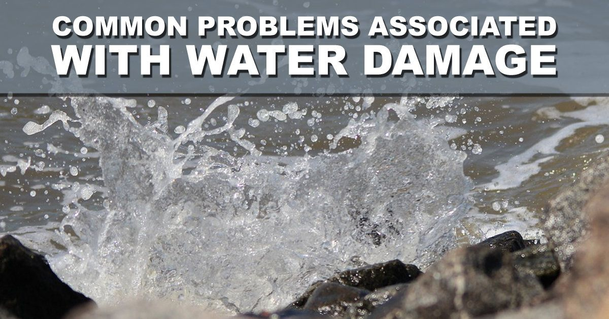 Common Problems Associated With Water Damage