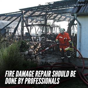 Hiring A Professional Fire Damage Repair Service