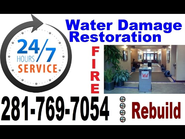 Best Water Removal Houston TX 281 769 7054 Water Damage Restoration Houston Repair Flood Commercial