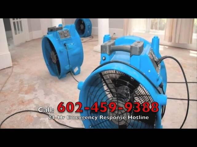 Water Damage Restoration Phoenix AZ (602) 459 9388 – Emergency Water Extraction