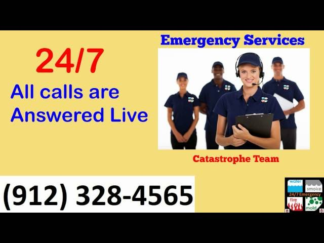 Flood Clean Up Savannah 912 328 4565 Commercial Flood Damage Repair Savannah Repair & Restoration