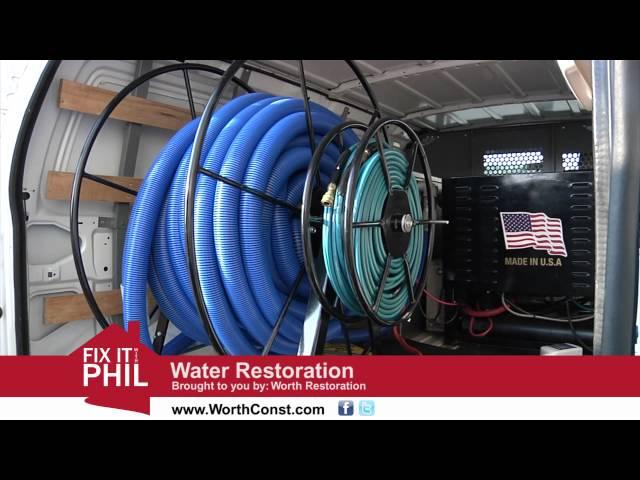 Water Restoration Cleveland TN | Worth Construction | Chattanooga Flood Damage Repair
