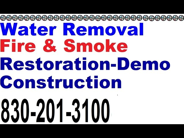 Water Fire Damage Marble Falls 830 201 3100 24/7Flood Restoration Water Extraction Mold Removal