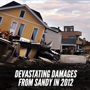 Devastating Water Damages From Sandy in 2012