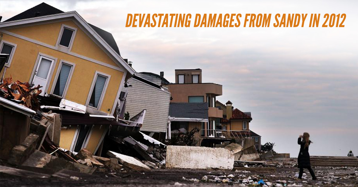 Devastating Damages From Sandy In 2012