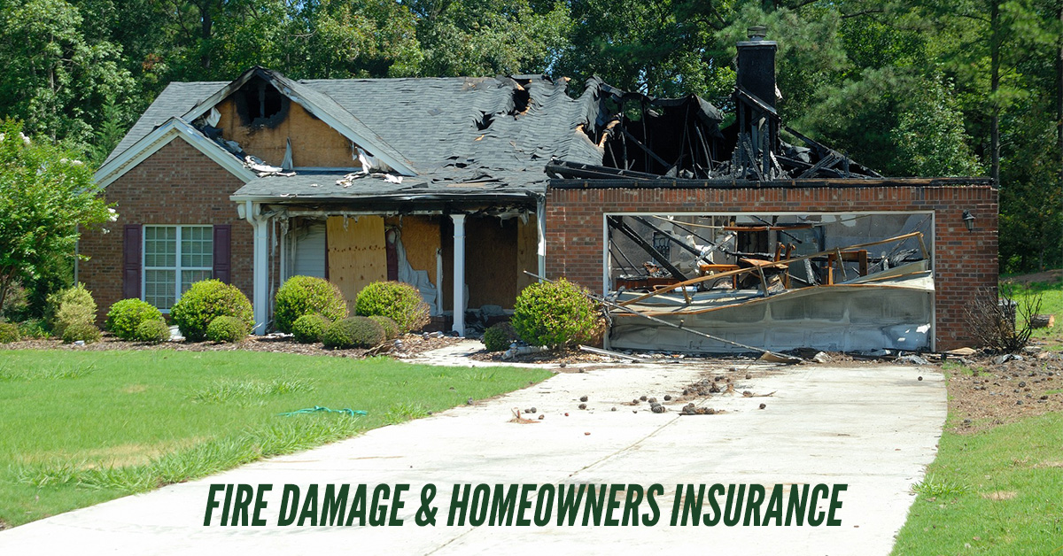 Fire Damage Homeowners Insurance