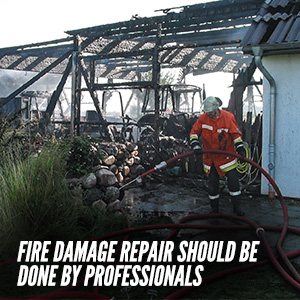 Hiring A Professional Fire Damage Repair Service