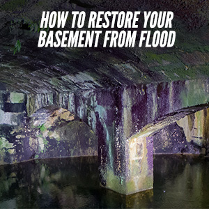 Tips On How To Restore A Flooded Basement?