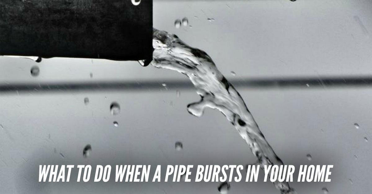 Steps To Take If Pipes Burst In Your Home