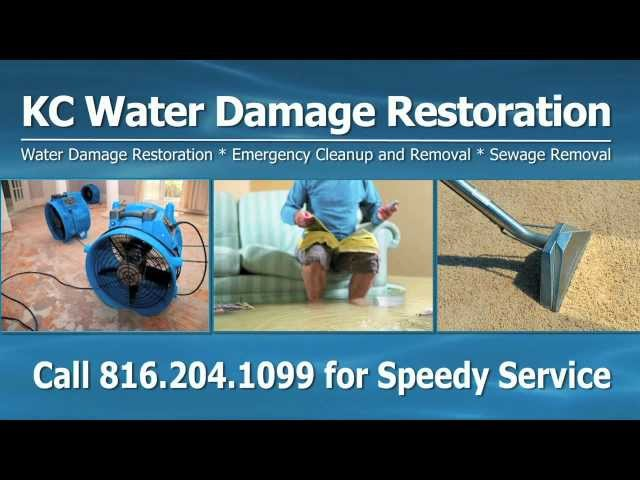 Shawnee Mission Water Damage Restoration, Water Removal, Sewage Removal, Water Cleanup, Flood Damage