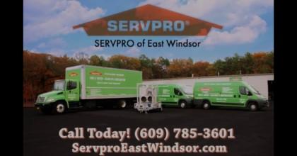 SERVPRO Of East Windsor
