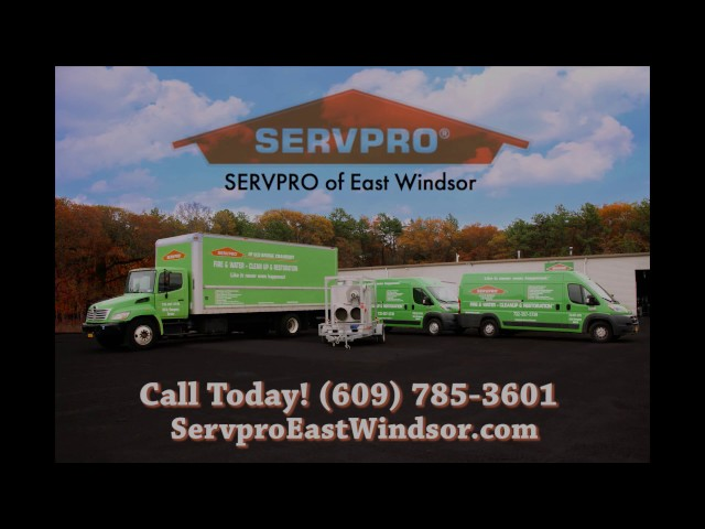 SERVPRO Of East Windsor