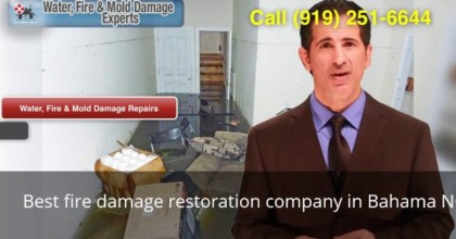 Best Fire Damage Restoration Company In Bahama NC (919) 251-6644