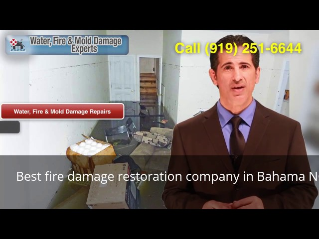 Best Fire Damage Restoration Company In Bahama NC (919) 251 6644
