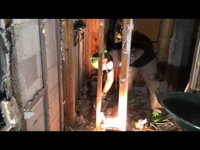 Fire Damage Restoration (Part I Demo) In St. Augustine By SERVPRO.