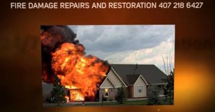 FIRE DAMAGE RESTORATION ORLANDO, FIRE DAMAGE CLEANUP /  REMOVAL
