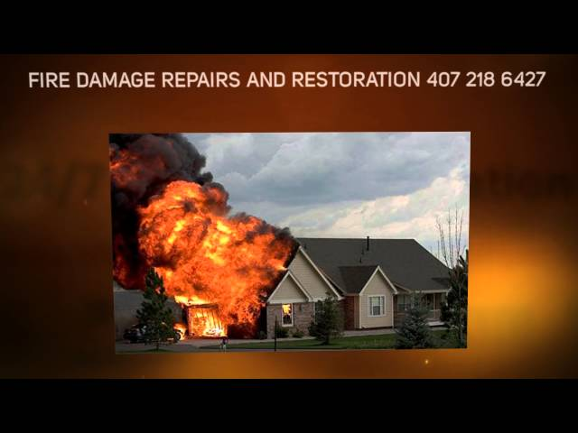 FIRE DAMAGE RESTORATION ORLANDO, FIRE DAMAGE CLEANUP /  REMOVAL