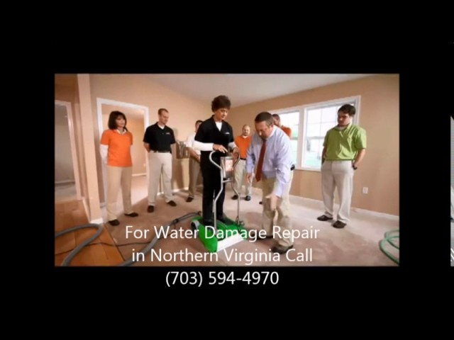 Water Damage Restoration In Northern Virginia