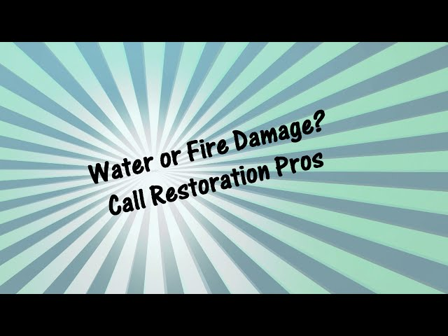 Water Damage Restoration Springfield VA Call (202) 335 2578
