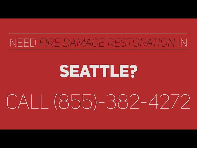 Seattle Fire Damage Restoration