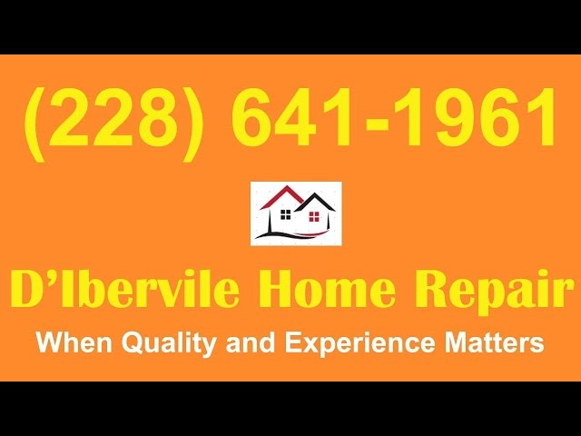Diberville Flood Damage Repair|Flood Damage Repairs Diberville
