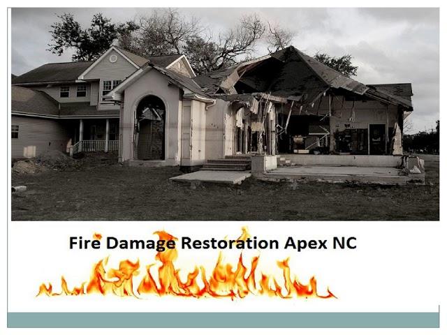 Fire Damage Restoration Apex NC
