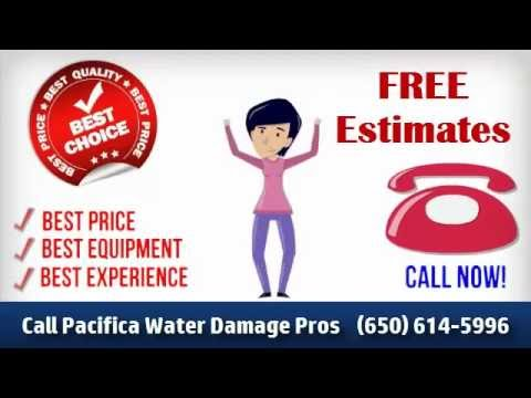 Pacifica Water Damage Repair (650) 614 5996 BEST Choice! Basement Flood Damage Clean Up Restoration