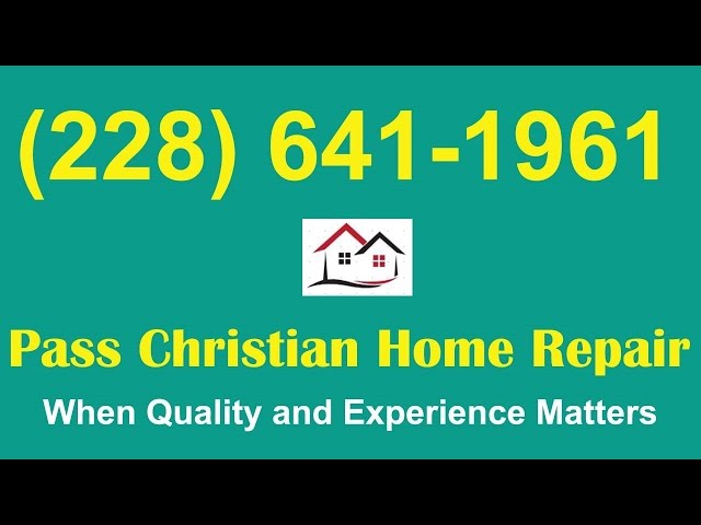 Pass Christian Flood Damage Repair|Flood Damage Repairs Pass Christian