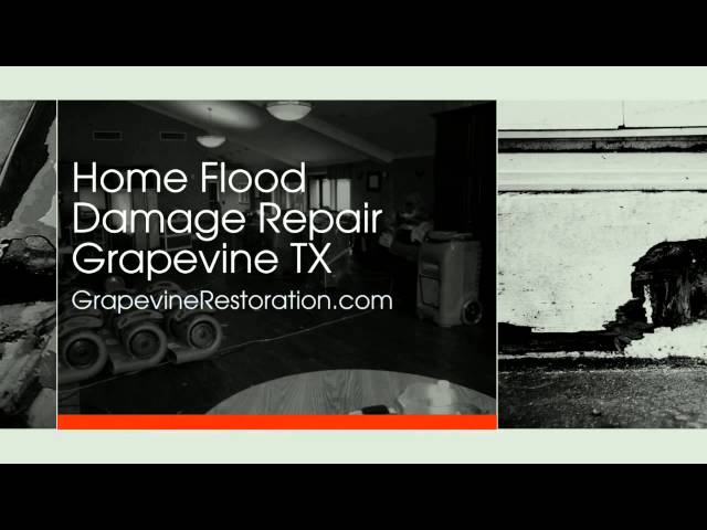 Home Flood Damage Repair Grapevine TX 817 500 0499