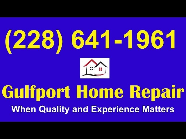Gulfport Flood Damage Repair|Flood Damage Repairs Gulfport