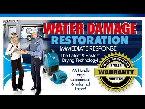 Water Damage Restoration Dawson Creek | Flood Repair | Mold & Water Removal |