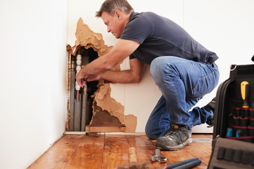 Our NYC Water Damage Restoration Technician